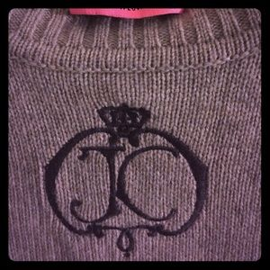 Monogram Juicy Couture 3/4 length sweater